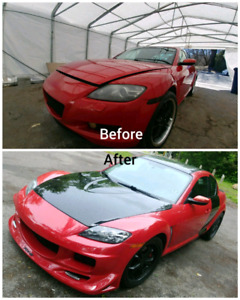 Autobody Car Repair / Carrosserie automobile