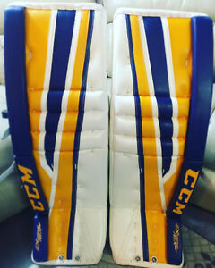 Selling Brand CCM Extreme Flex2 Pro Goalie Pads and Glove set
