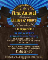 Dinner and Dance in support of In The Woods Animal Rescue