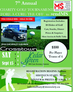 7th Annual Multiple Sclerosis Golf Tournament