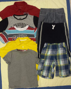 Summer clothes for boy size 7-8 (1)