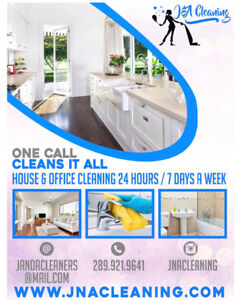 J&A Cleaning Residential and Office Cleaning