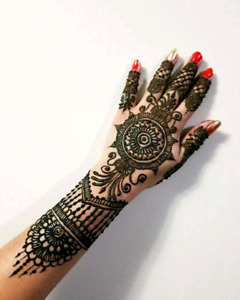 Henna tattoo starts from just $4 - Book your Henna party now