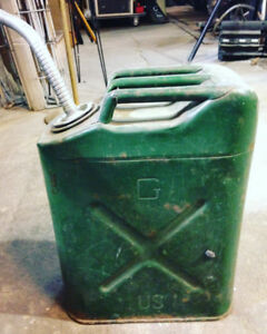Antique Gas Can Jerry Can USA 5L $40