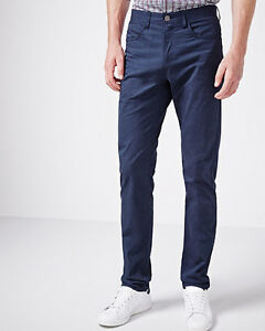 RW & Co Pants -- Modern Straight, Blue