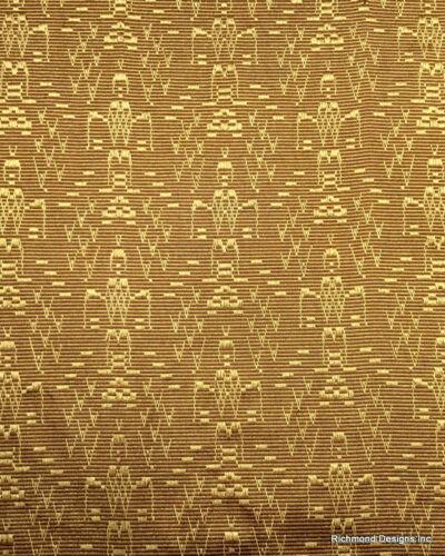 """Antique Radio Speaker/Grille Cloth, Aztec, 18""""  x 24"""" , See description !!"""