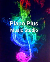 PIANO PLUS MUSIC STUDIO - REGISTER NOW - Learning made fun :)