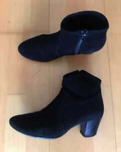 Ankles Boots - leather