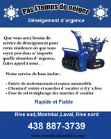 SNOW REMOVAL...DÉNEIGEMENT...CLEANING AND HOUSE MAINTENANCE...