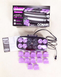 Conair Xtreme Instant Heat Jumbo And Super Jumbo Hair roller set
