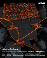 AOMG ABOVEORDINARY USA & Canada Tour 2019