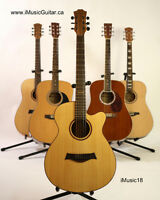 For beginners, students acosutic guitar brand new iMusic18
