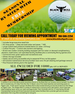 RV camping lease lots with Golf Membership!
