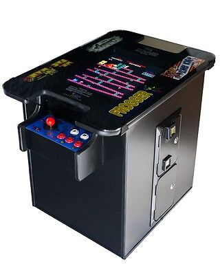 NEW COMMERCIAL GRADE VIDEO ARCADE COCKTAIL TABLE Multigame  60 games +