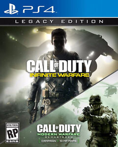 Infinite Warfare Legacy Edition- MWR NOT INCLUDED MWR PAS INCLUE