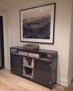 Industrial Media Console/Credenza Steel and Wood London Ontario image 10