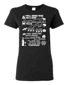 I WILL DRINK WINE T-Shirt Downtown-West End Greater Vancouver Area image 3
