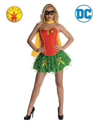 RUBIES Ladies Costume Fancy Dress DC Comics Licensed Batman & Robin Tutu 880559 - Batman And Robin Tutu Costumes