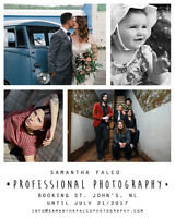 Toronto Professional Photographer - Booking ST. JOHN'S in JULY