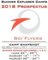 Science Summer Camps 2018 - Sci*Flyers