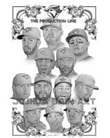 2015 TORONTO BLUE JAYS PRINT FOR CHARITY