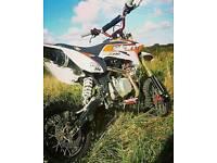 Slam 140mx dirt bike