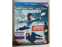 Grimsby with unused Digital HD Ultraviolet copy