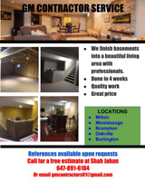 GM HANDYMAN AND BASEMENT RENOVATIONS............