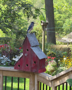 Hand Crafted Rustic Bird Houses