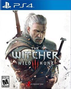 PS4 Witcher 3 wild hunt