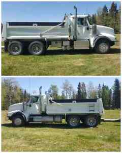 Gravel truck with or without pup