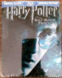 Harry Potter and the Half-Blood Prince Steelbook Blu-ray