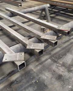 Structural Steel & Rebar Fabrication - Lintels - Joists