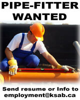 PIPE-FITTER WANTED