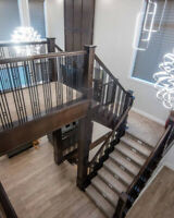 Stairs, Railings, and Millwork