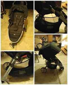 Britax B Agile stroller and Elite car seat