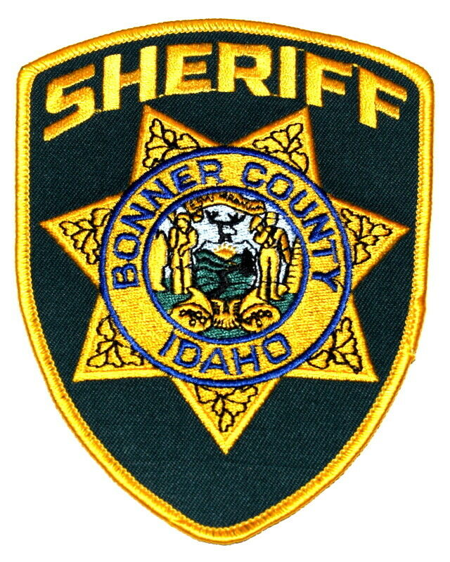 BONNER COUNTY IDAHO ID Sheriff Police Patch LG 5""