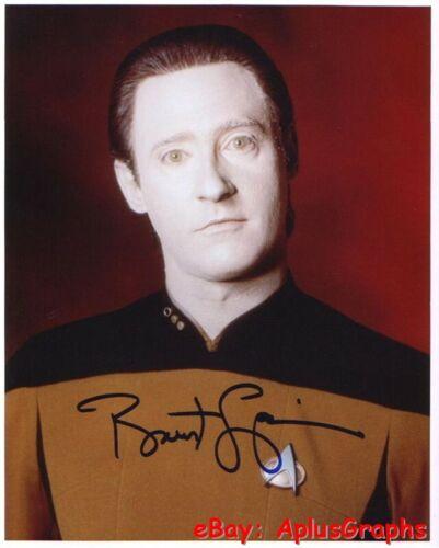 BRENT SPINER.. Star Trek: The Next Generation - SIGNED