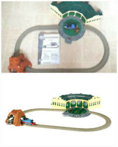 Thomas the Train Trackmasters Set - Tidmouth Sheds