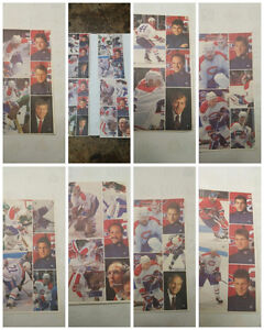 Montreal Canadiens Hockey Players Stickers Sheets