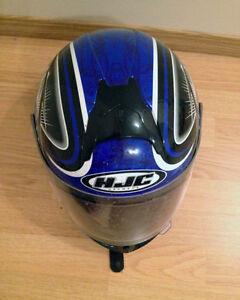 MOTORCYCLE HELMET, JACKET, GLOVES