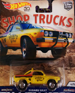 **FREE POST/PICKUP! NEW RARE Subaru Brat Real Riders Hot Wheels Castle Hill The Hills District Preview
