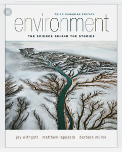 Environmental third canadian edition textbook by withgott