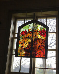 30% OFF ALL INSTOCK MOSAIC STAINED GLASS WINDOWS! Stratford Kitchener Area image 1