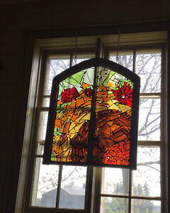30% off all in stock mosaic stained glass windows! Cambridge Kitchener Area image 2