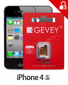 Unlock iPhone 4S Gevey Ultra S | GewTOLO | PC | MAC | Repairs