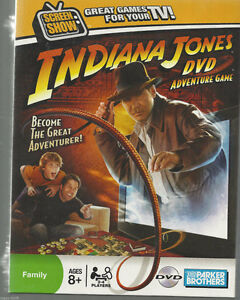 INDIANA JONES-DVD ADVENTURE GAME***NEW*** London Ontario image 1