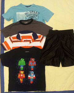 Summer clothes for boy size 7-8