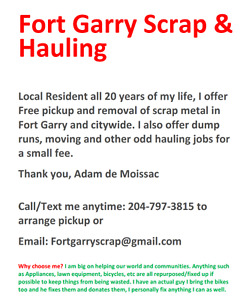 Fort Garry Scrap and Hauling
