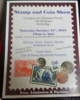 Stamp and Coin Show-North Bay